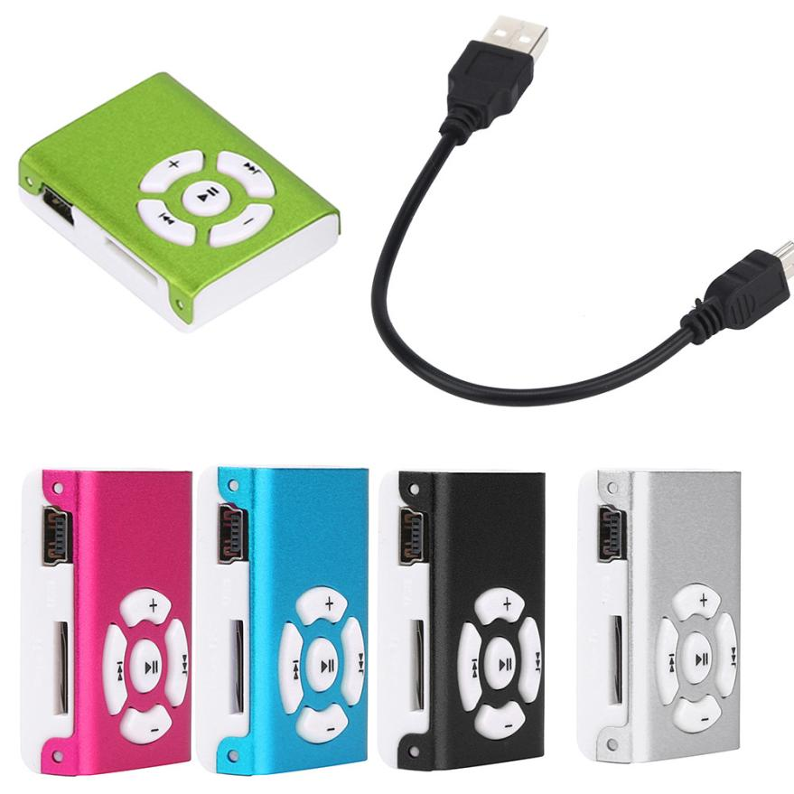 OVERMAL Новый мини клип зеркало Спорт MP3-плееры Поддержка 32 ГБ Micro SD карты памяти Музыка Media slick стильный дизайн Спорт компактный