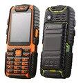 9800 мАч Длинные Ожидания В Исходном Guophone A6 Dual Sim Карты 2.4 ''Flashlight Power Bank Пыле Водонепроницаемый Мобильный Телефон