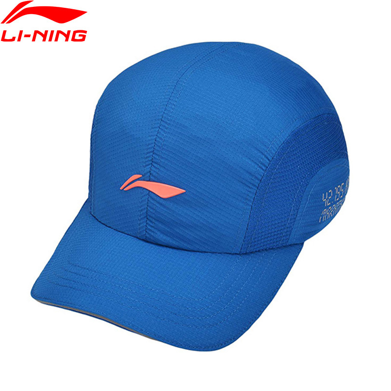 Lining Baseball-Caps Sports-Hat Running-Series 97%Polyester Unisex Spandex PMQ055 AMYM068