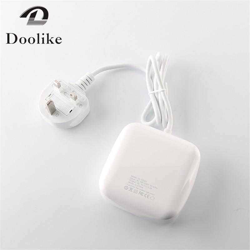 4 en 1 Multi ports de chargeur EU UK US Plug 2.4a 1a blanc chargeur - Pièces détachées et accessoires pour téléphones portables - Photo 5