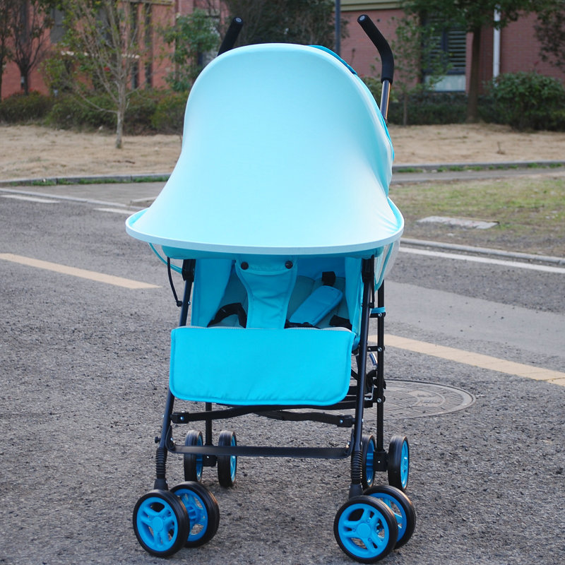 Saulėlydžio vaikiškų vežimėlių tentai Rag Shade Blocks 99% UV - Vaikų veikla ir įranga - Nuotrauka 2