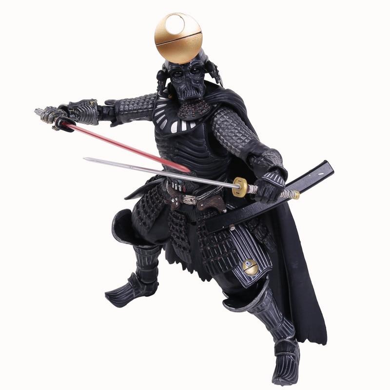 все цены на  Star Wars Samurai Taisho Darth Vader Armor PVC Action Figure Collectible Toy 8