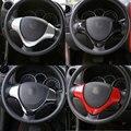 1 pcs abs da roda de direcção do carro-styling u-forma de moldagem guarnição interior acessórios adesivo tampa moldura para suzuki jimny 2008 up