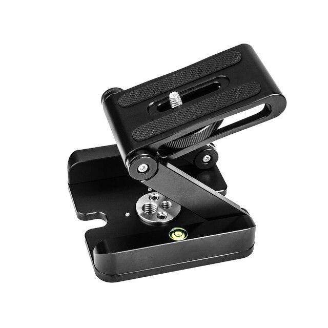 FITTEST Ultimate Camera Head Solution Photography Studio Camera Tripod Z Aluminum Pan Tilt Flex Tilt Head Ball Head Z Holder
