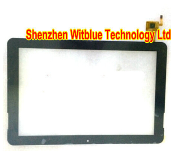 New touch screen panel Digitizer Glass Sensor replacement 101091-01A-V2 For 10.1 inch Tablet PC Free Shipping new tp3196s1 touch screen glass panel