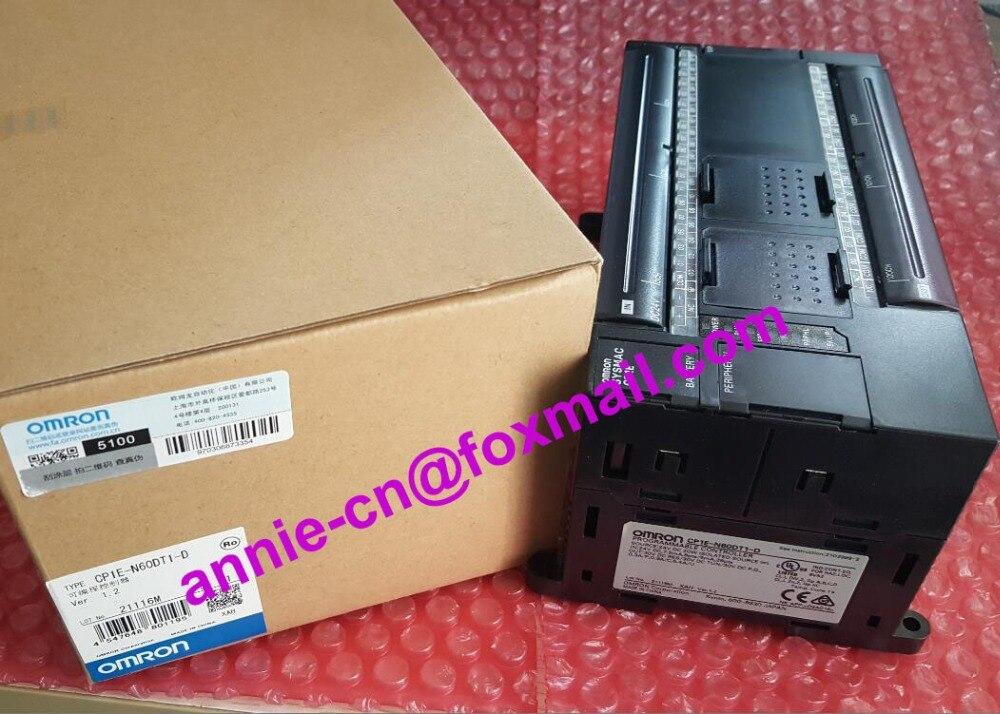 100% New and original CP1E-N60DT-D,  CP1E-N60DT1-D  OMRON PLC CONTROLLER