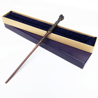 Newest High Quality Metal Core Harry Potter Magical Wand Withi Gift Blue Box Packing Chirstmas Cosplay