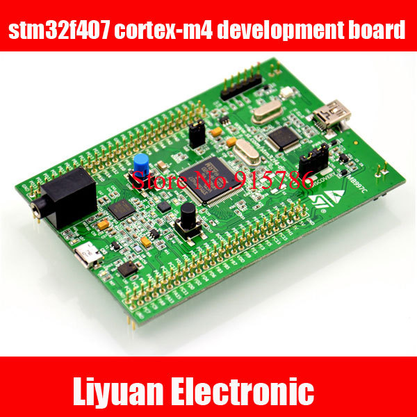 Free shipping Stm32 series development board ,stm32f4 discovery stm32f407 cortex-m4 development board(China)