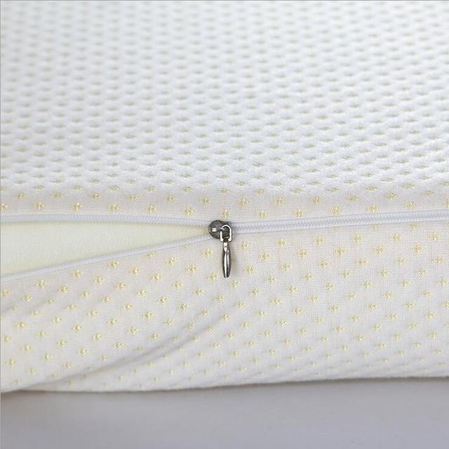 Orthopedic Latex Magnetic 50*30CM White Color Neck Pillow Slow Rebound Memory Foam Pillow Cervical Health Care Pain Release 3