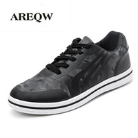AREQW 2017 Spring Sneakers Casual Shoes Men Canvas Flat Shoes Men S Lace Camouflage Shoes New