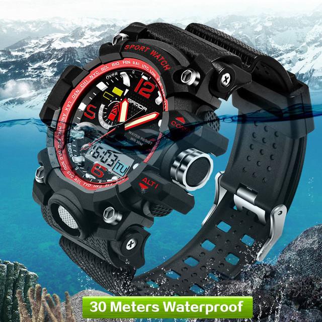 Reloj Deportivo Militar Resistente al Agua