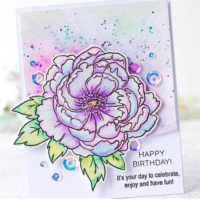 YaMinSanNiO Spring Flower Metal Cutting Dies 2019 New Stamps for Scrapbooking Blossom Cuts Card Making Craft Dies DIY Album in Cutting Dies from Home Garden