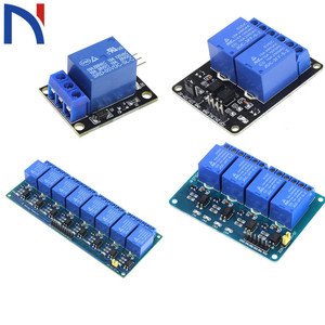 DC 5V 1 2 4 8 Channel Relay Module DC5V Low Level Expansion Board For SCM Household Appliance Control for arduino Raspberry Pi(China)
