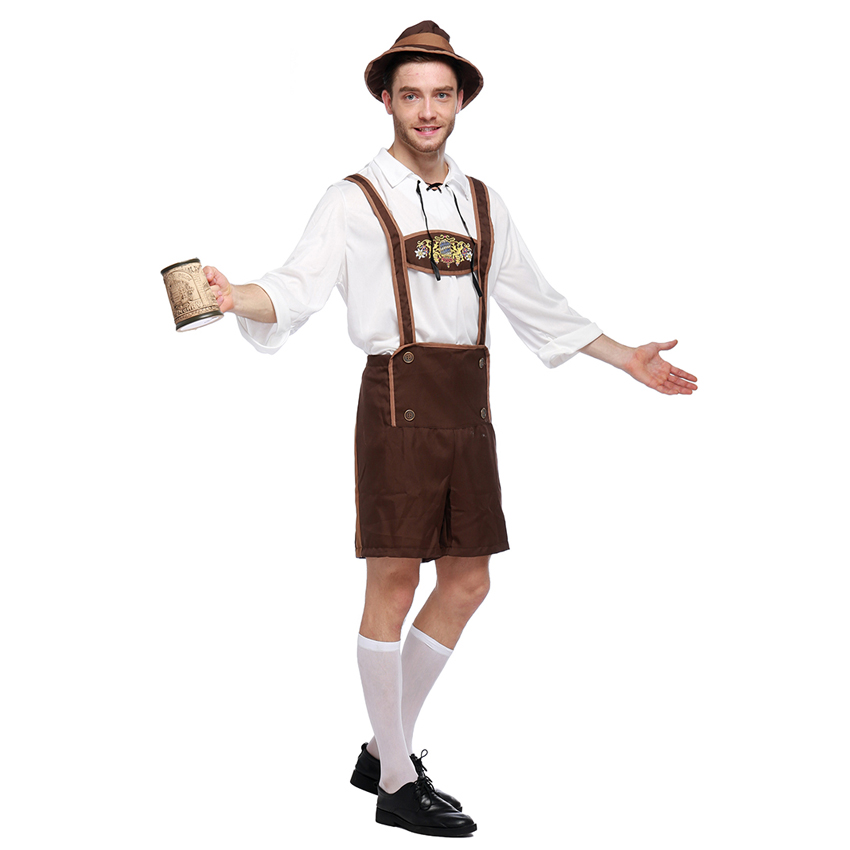 Oktoberfest Holiday Costumes Waiter Cosplay Set ...