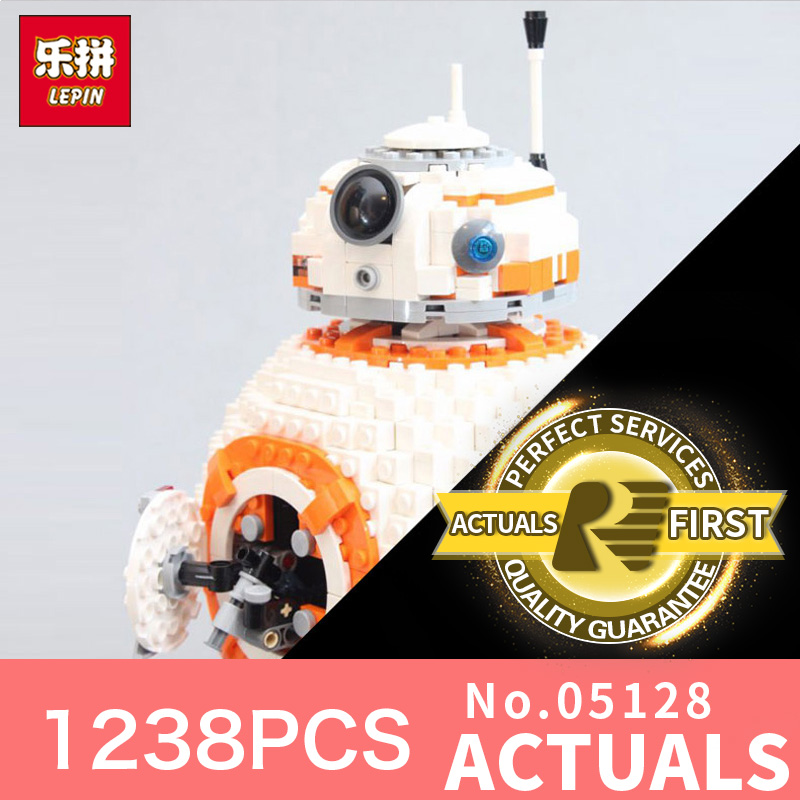 lepin 05128 star wars series bb8 robot LegoINGlys 75187 model Building kits Blocks Bricks toys for boys toys for Children gift star wars boys black