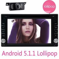 Android 5 1 1 Capacitive HD Touch Screen Quad Core Car DVD Player Bluetooth Video Audio