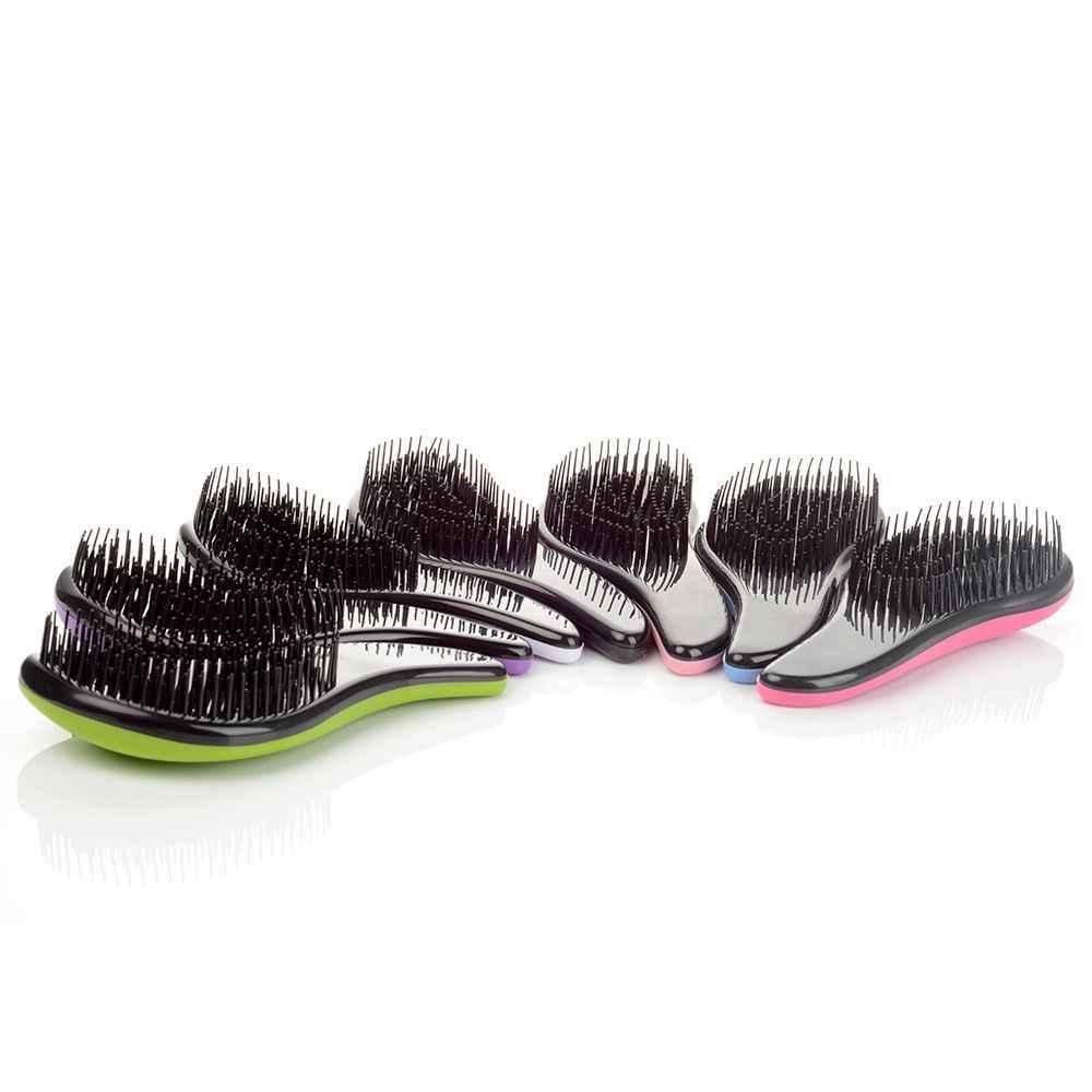 1 Máy tính Ma Thuật Tay Cầm Detangling Lược Chải tóc Tắm Chải Tóc Salon Tạo Kiểu Tamer Công Cụ Bán chạy phụ kiện Du Lịch
