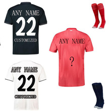 Free Shipping 2018-19 The European New Top AAA Quality Men's T-shirt  Customized Football Team t shirt men