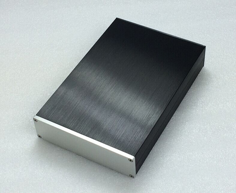 BZ1805 Full aluminum chassis Panel decoder DAC box Power amplifier case size 430*70*308MM queenway 2210 new l panel cnc full aluminum chassis audio box power amplifier case 362mm 220mm 100mm 362 220 100mm