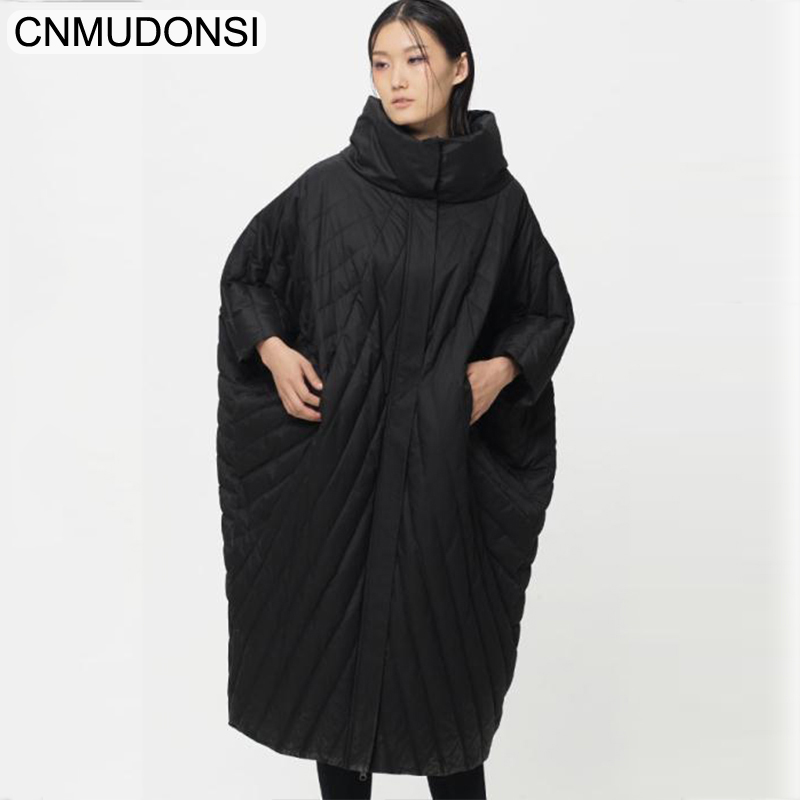 CNMUDONSI Luxury Winter Jacket Vintage Coat Light Korean Down Women Ultra Womens Parka Long Coats Large Big Size Windbreaker