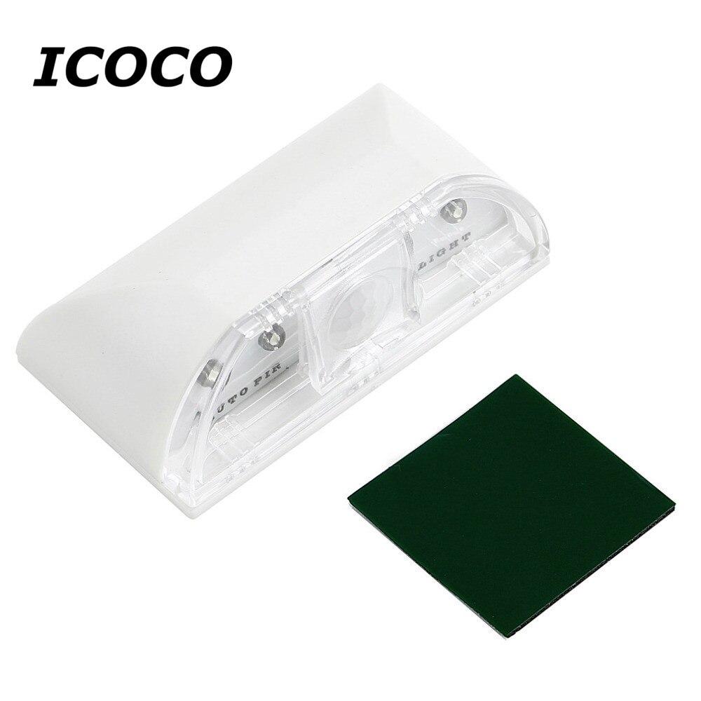 LED Beads PIR Infrared Detection Motion Sensor Home Door Stairway Lamp Night Light For B ...