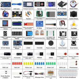 Image 2 - LAFVIN Mega 2560 Project Complete Starter Kit including LCD1602 IIC / Ultrasonic Sensor for Arduino with Tutorial