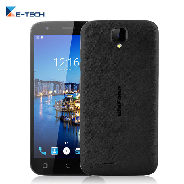 Original Ulefone U007 PRO Smartphone 5.0 inch MT6735 Quad core Cell Phone 1GB RAM 8GB ROM Android 6.0 4G LTE FDD Mobile Phone
