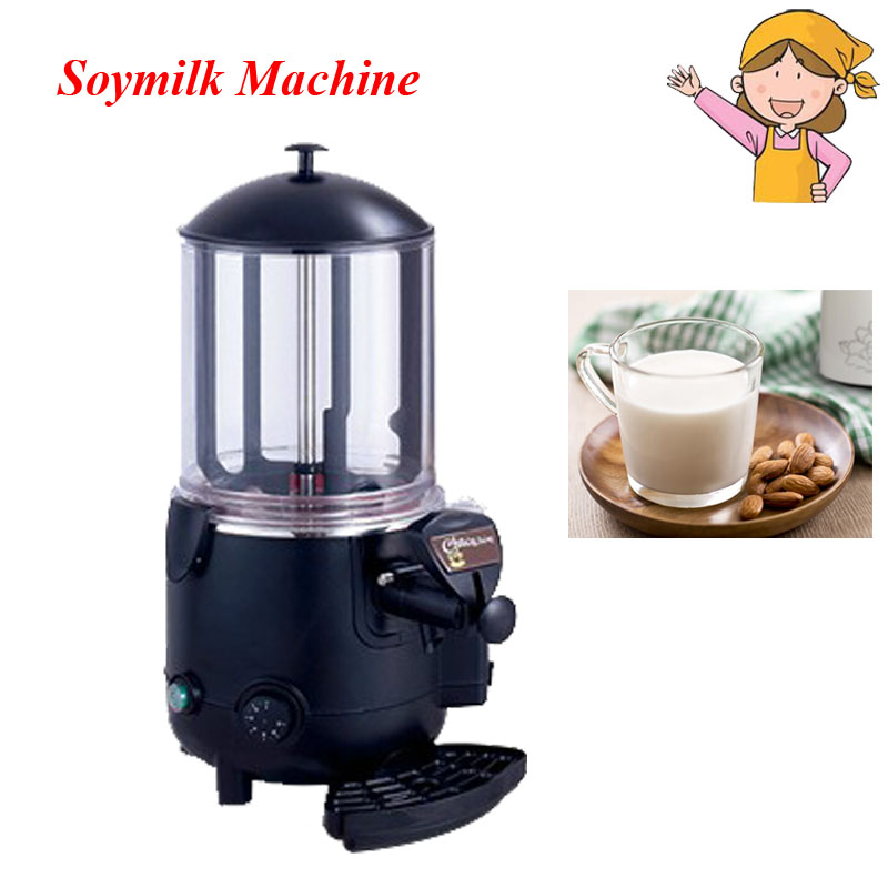 5L Heating Chocolate Machine Multi-Function Hot Drinks Machine Heating Soybean Milk Drink Machine free shipping all steel soybean milk machine automatic multi function special offer quality goods