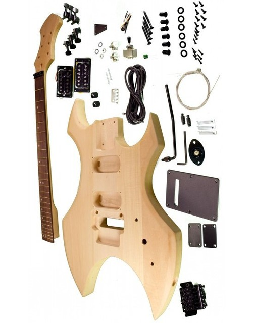 US $189 91 5% OFF BC Rich electric guitar kits /Diy guitar basswood body  including all the parts -in Guitar from Sports & Entertainment on
