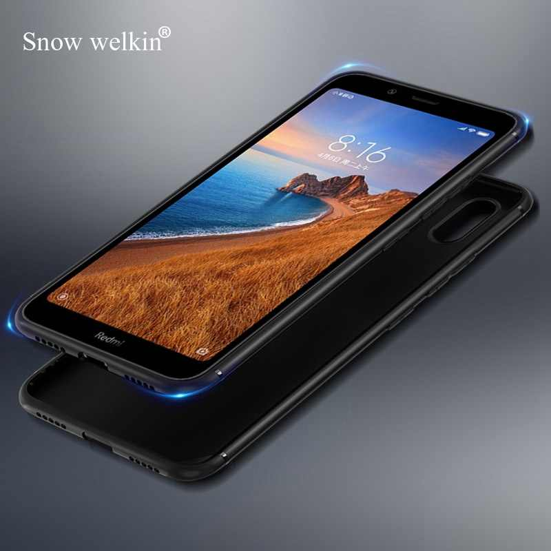 Cho Redmi 7A Đáng Yêu Dễ Thương Matte Ốp Lưng TPU Cho Xiaomi Redmi 7A 7 Note 7 Pro Nhiều Màu Sắc Siêu Mỏng Mềm Mại ốp Lưng dẻo silicon