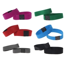 2cm Width Decorative Shoelaces Shoe Pure Color Shoe Strings Band For High Heels Anti Loose Strap With Elastic Belt