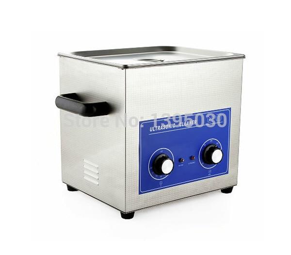 Nettoyeur à ultrasons 240 w PS 40 AC110/220 v avec minuterie et chauffage cliniques dentaires Circuit borar 10L 1 pc|Nettoyeurs à ultrasons| |  -