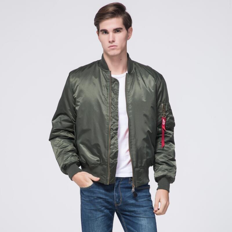 Freelee 2017 High Quality Ma1 Army Green Military red varsity Ma 1 Flight Jacket Plus