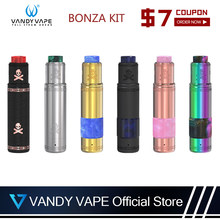 Original Vandy vape Bonza Kit With Vandyvape Bonza V1.5 RDA Tank For Electronic Cigarette Without 18650/20700/21700 Battery(China)