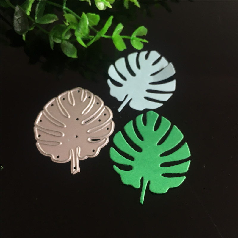 Electronic Components & Supplies Tree Leaves Metal Steel Embossing Craft Diy Leaf Stencil For Metal Cutting Dies Machine Paper Cardsnew 2018 Scrapbooking Die Cut
