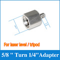 "5/8"" Turn 1/4 "" Universal Stainless Steel Tripod Bracket Adapter For 2/5/8 Lines Laser Level l WAL60"
