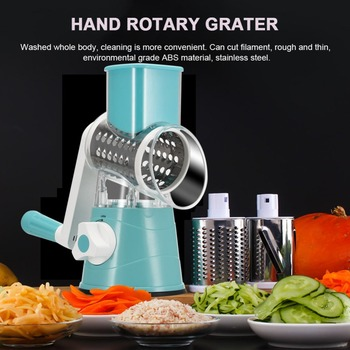 Rotating Fruit + Vegetable Spiralizer
