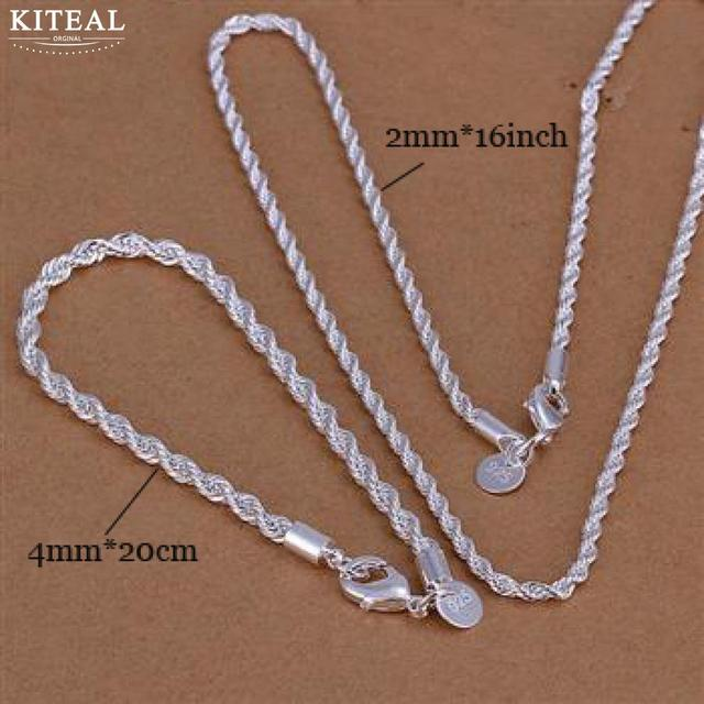 Kiteal Silver Jewelry Sets...