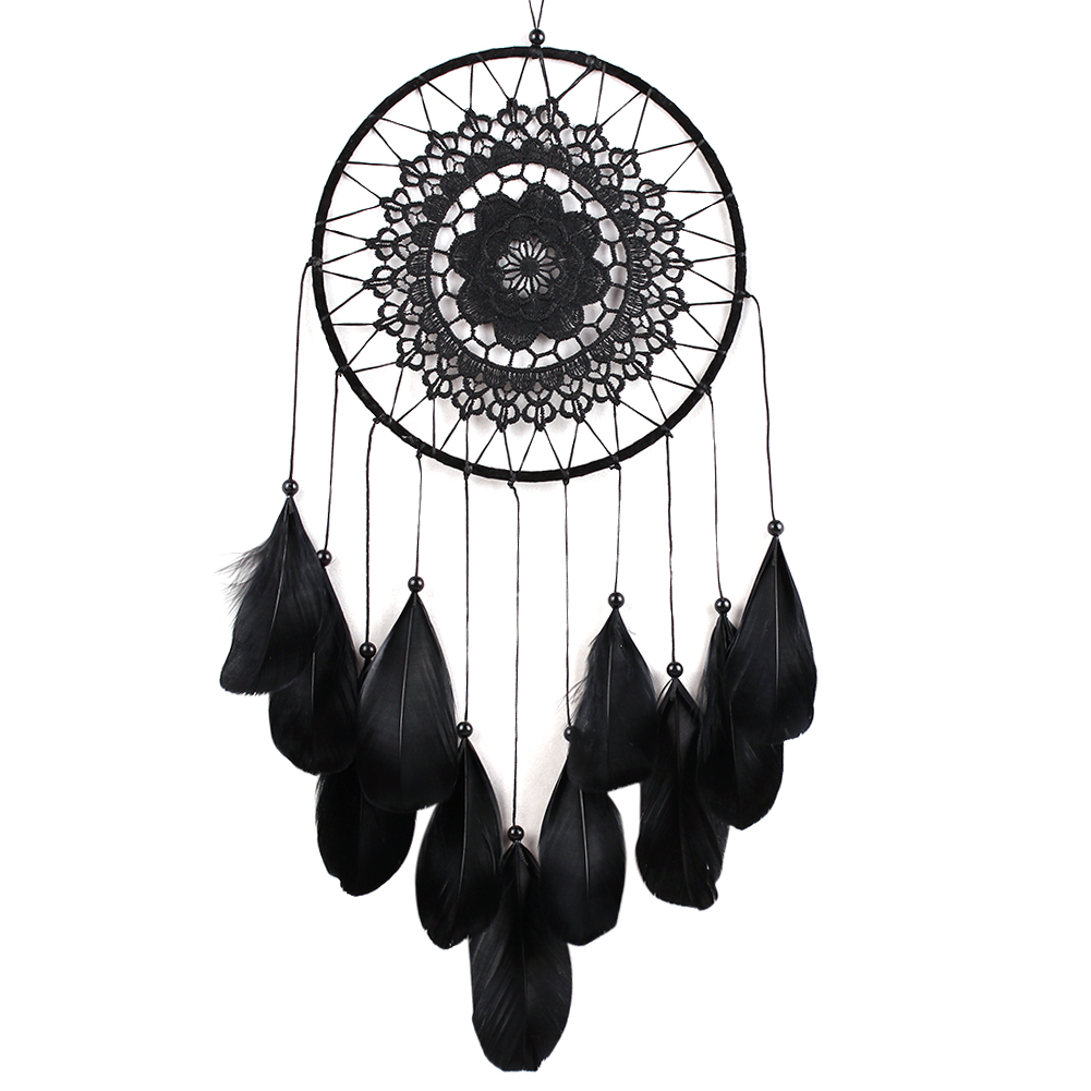 Online Buy Wholesale Black Dream Catcher From China Black