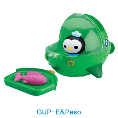 original Octonauts GUP-E and Peso vehicle figures toy, bath toy - child Toys 8pcs set the octonauts cartoon action figures kids toys captain barnacles medic peso model children birthday gifts with box