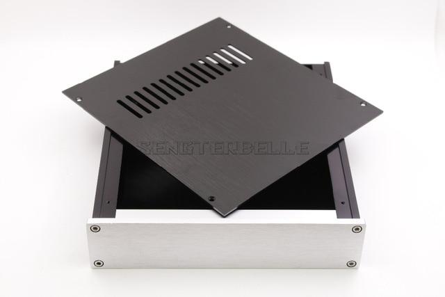 T 2205 Pieno di Alluminio Cuffia Custodia Amplificatore Telaio DAC Box Premplifier Caso BZ2205B