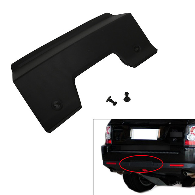 Rear Bumper Moulding Tow Towing Eye Hook Hitch Cover For