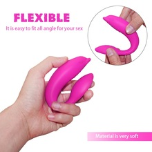 Speed Rechargeable Dolphin Vibrator For Women