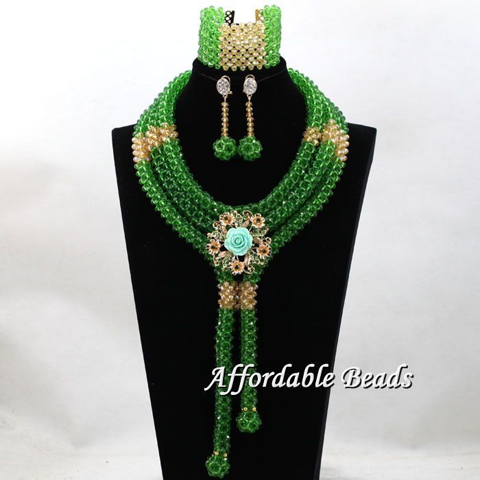 Mixd color African Beads Jewelry Sets Nigerian Wedding Handmade Indian Dubai Bridal Necklace Costume Jewelry Set hx037 the latest dubai african jewelry sets new arrival indian jewelry set wedding handmade design bn240