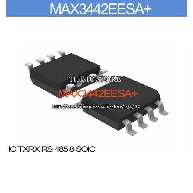 3PCS MAX3442EESA+T IC TXRX RS-485 8-SOIC MAX3442 3442 MAX3442E 3442E MAX3442EE 3