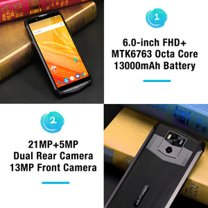 "Image 4 - Ulefone Potenza 5 13000mAh 4G Smartphone 6.0 ""FHD MTK6763 Octa Core Android 8.1 6GB + 64GB 21MP di carica Wireless Fingprint Viso ID"