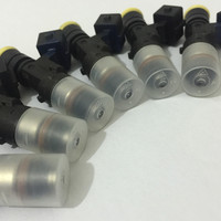 Fast express for sets of 6pcs genuine CNG fuel injector 2200cc 210lbs 0280158829 028015830 use GAS PETROL E85 RACING