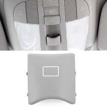 Gray Interior Ceiling Light Sunroof Switch Button For Mercedes ML GL R W164 W251 Car Interior Switch Button Parts 33*33*12mm tanie tanio Window Switch Button Mitsubishi ABS + PC 2019 3 3cm Window Control Switch
