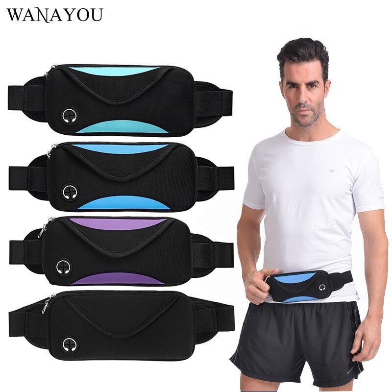 2019 Mode Laufen Outdoor Taille Tasche Wasserdichte Anti-diebstahl Handy Halter Taille Gürtel Bauch Tasche Frauen Männer Gym Fitness Tasche
