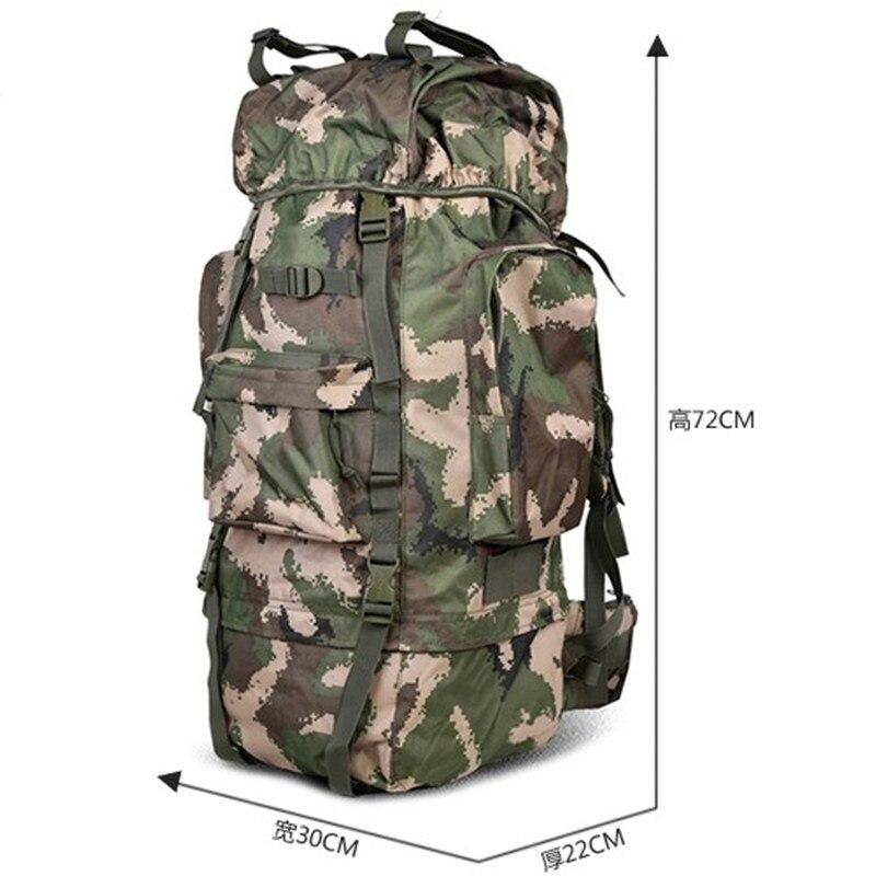 Sacs Professionnel Camouflage Sac Hommes Dos Double 75l Bagages épaule À Voyage Kundui Alpinisme Étanche wH1qU